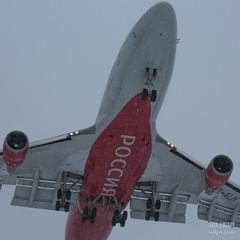 H18A9226 (Said Aminov) Tags: aviation aircraft avgeek airport vnukovo vko uuww moscow russia boeing b747 winter snow