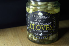 Sweet Snacking Cloves with Herbs from Garlic Farm (Tony Worrall) Tags: add tag ©2019tonyworrall images photos photograff things uk england food foodie grub eat eaten taste tasty cook cooked iatethis foodporn foodpictures picturesoffood dish dishes menu plate plated made ingrediants nice flavour foodophile x yummy make tasted meal nutritional freshtaste foodstuff cuisine nourishment nutriments provisions ration refreshment store sustenance fare foodstuffs meals snacks bites chow cookery diet eatable fodder ilobsterit instagram forsale sell buy cost stock package lable packet garlicfarm garlic jar glass