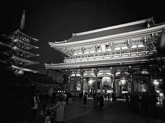 Sensoji Temple (-Faisal Aljunied - !!) Tags: faisalaljunied sensojitemple tokyo japan temple asakusa monochrome