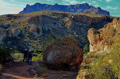 Still A Ways To Go (MPnormaleye) Tags: photomatix mountains valley desert preserve nature beautiful hiking arizona southwest utata 24mm