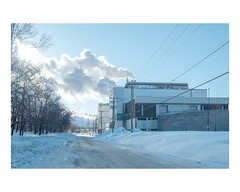 limoilou (Mériol Lehmann) Tags: landscape smoke cold industrial incinerator topographies industry canada industries quebec winter snow