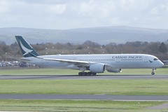 Cathay Pacific Airbus A350-941 B-LRP (josh83680) Tags: manchesterairport manchester airport man egcc airbus airbusa350941 a350941 airbusa350900 a350900 cathay pacific cathaypacific