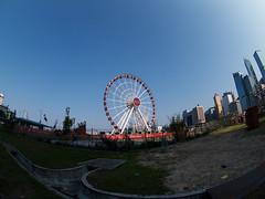 P3129266s (MarvinLee) Tags: fisheye hongkong hong kong observation wheel central olympus 8mm