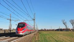 TI ETR 400 16. Grisignano di Zocco (Ivan Furlanis) Tags: treno train zug ferrovia bahn eisenbahn rail railway railroad italia italy italien veneto