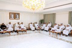 During the meeting with QC's Chairman (Qatar Chamber) Tags: qatar oman chamber commerce delegation business