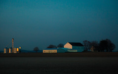 morning glow (Jen MacNeill) Tags: morning dawn spring light sunrise farm county pa pennsylvania landscape lancaster manheim farming barn house agriculture