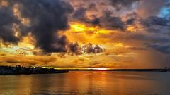 Brasília - Sunset - explore (sileneandrade10) Tags: sileneandrade brasília pôrdosol paisagem céu água reflexo landscape nuvens lagoparanoá lago viagem turismo hdr photoedition photoart photoediting snapseed samsungsmg930f samsung s7 explore