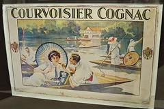 Affiche pour le cognac Courvoisier - Musée des Arts du cognac, Cognac (16) (Yvette G.) Tags: affiche cognac 16 charente poitoucharentes nouvelleaquitaine musée muséedesartsducognac