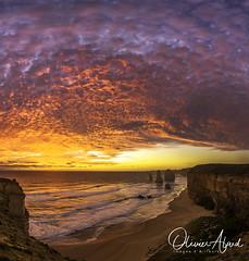 _IO_0033-Panorama-MAir1 (oalard) Tags: australia canon 1dmkiv australie victoria ocean sky cloud ciel 12 apostles apotres greatoceanroad