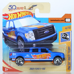 HOT-2018-287-Ford-F150 (adrianz toyz) Tags: hot wheels diecast toy model 164 scale 2018 series ford f150 pickup 2009 09 hw50thraceteam truck