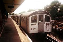 1671 @ Hainault (Chris W 72) Tags: londonunderground 62tubestock 62ts centralline hainault 1671 drivingmotor hainaultstation
