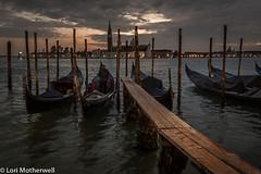 1811-Venice-361-3 (-LoriM-) Tags: gondola gondolier italy venice night