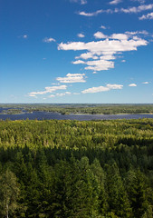 Schweden 08 235-1 (Andre56154) Tags: schweden08 schweden sweden sverige wald forest himmel sky see lake landschaft landscape water wolke cloud