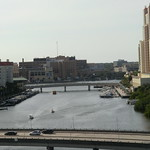 Florida - Tampa:  Garrison Channel - Highly frequented waterway between Tampa port and Hillsborough River thumbnail