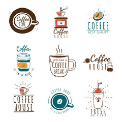 Set of coffee shop logos vector (nobir899) Tags: badge beans bestquality beverage brew brewed brown cafe coffee coffeebreak coffeecup coffeehouse coffeeroasters coffeeshop coffeetime cold collection drawing drink green grinder handdrawn hipster hot hotcoffee icecoffee icon illustrated illustration inacup letshaveacoffeebreak logo mixed mug orange papercup premium red roasters roastery set takeaway text togo typographic typography vector white whitebackground wording
