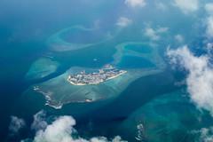 Maldives Atoll (twomphotos) Tags: inflightimpressions malediven maledives blue water coral reef atoll sea paradise maldives