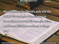 1 Kings 15:4 (jhungalang) Tags: 1 kings 154