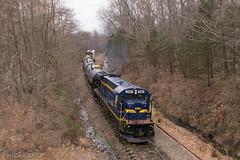 Rockhill Climb (Dan A. Davis) Tags: eastpennrailroad espn eastpenn b237 railroad train locomotive freighttrain quakertown eastrockhill pennsylvania pa