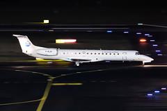G-RJXI Brussels Airlines (bmi Regional) Embraer ERJ-145EP (buchroeder.paul) Tags: eddl dus dusseldorf international airport germany europe night ground grjxi brussels airlines bmi regional embraer erj145ep