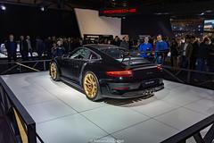 GT3 RS Mk2 (Alessandro_059) Tags: porsche 911 991 gt3 rs mk2 9912 black gold autosalon brussels motorshow