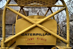 Cat Power (slammerking) Tags: caterpillar cat d6 rolloverprotection ranch x yellow expandedmetal