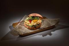 Гамбургер - hamburger (Anton_Letov) Tags: foodphoto nikon lowkey strobist hamburger