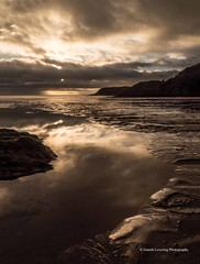 Sunset over Caswell Bay 2019 01 25 #7 (Gareth Lovering Photography 5,000,061) Tags: sunset sun sunny sunshine caswell gowercoast gower swansea wales seaside landscape beach walescostalpath olympus penf garethloveringphotography