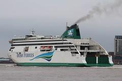 Ulysses (Das Boot 160) Tags: ulysses irishferries ferries ferry roro ships sea ship river rivermersey port docks docking dock boat boats birkenhead cammelllairds lairds maritime mersey merseyshipping