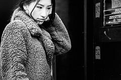 DSCF0340_b (yann CM B) Tags: oslo streetphotography candid fuji fixlens fujixt20 35mm 50mm blackandwhite blackwhitepassionaward blackdiamond winter woman