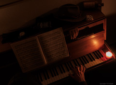 Music was my first love - And it will be my last (II) (Only Snatches) Tags: alkohol langzeitaufnahme leere longshot mood skuril stillleben alcohol bizarre düster empty gloomy krank sick stilllife