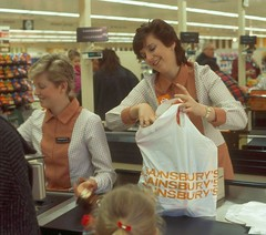 Sainsbury's Staff (Nurses Uniforms and Ladies Workwear) Tags: sainsburys supermarket uniform