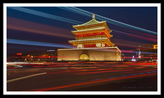 Xi'an Bell Tower (Simon Teo (supersimon27)) Tags: happy chinese new year guys share old photo taken china 不夜城 西安 xian bell tower with nikon d800 sigma 1224mm
