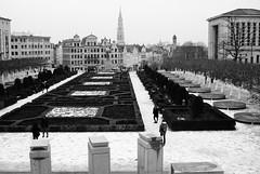 Mont des Arts (Spotmatix) Tags: 2880mm a200 belgium brussels camera cityscape effects landscape lens monochrome places sony urban zoomstd