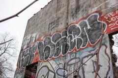 Bet, Logan (NJphotograffer) Tags: graffiti graff pennsylvania pa philadelphia philly abandoned building bet logan