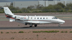 NetJets Cessna 560XL Citation Excel N587QS (ChrisK48) Tags: kdvt netjets cessna560xl aircraft airplane phoenixaz 2008 n587qs dvt citationexcel phoenixdeervalleyairport