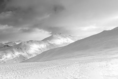 AS white as snow (Petr Horak) Tags: snow winter x100f clouds cloudy sky mountains alps italy lombardy europe landscape monochrome blackandwhite