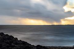 Rain Showers on the Horizon (Wargus) Tags: thesolent pentaxk1 leeonthesolent smcpentaxa85mmf14 manualfocuslens hoyaprond100000 hampshire singleinchallenge england unitedkingdom gb