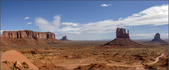 **MONUMENT VALLEY** (Rich Zoeller Photography) Tags: richzoeller rich zoeller thatkidrich tkr monumentvalley monument valley utah arizona landscape rocks vast landscapephotography westcoast desert hot dirt road canon sky clouds nature nationalgeographic