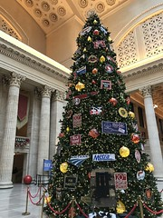 "Christmas Tree at Union Station • <a style=""font-size:0.8em;"" href=""http://www.flickr.com/photos/109120354@N07/46389534502/"" target=""_blank"">View on Flickr</a>"
