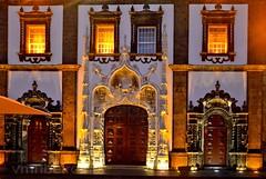 Fachada da Igreja Matriz de Ponta Delgada (vmribeiro.net) Tags: portugal pontadelgada azores prt ponta delgada manuelino portal sul igreja matriz sao sebastiao nikon d7000