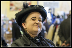 IMG_0048-7 (Scotchjohnnie) Tags: whitbysteampunkweekendfebuary2019 whitbysteampunkweekend steampunk costume thepavillion people portrait female canon canoneos canon7dmkii canonef70200mmf28lisiiusm scotchjohnnie