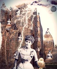 'Abandoned, Awaiting......' (tishabiba) Tags: montage artphoto artwork waiting fairytale tower tish digitalart digitalmania illusion conceptional perception surrealism surreale surreal