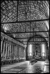 Mont St Michel 02 (eradk666) Tags: mont saint michel nb bw dark architecture abbaye noir et blanc black white