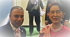 """Myanmar's State Councellor and Foreign Minister Aung San Suu Kyi • <a style=""""font-size:0.8em;"""" href=""""http://www.flickr.com/photos/146657603@N04/46464494192/"""" target=""""_blank"""">View on Flickr</a>"""