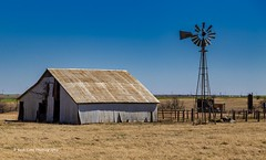 The Old Farm-2 (Kool Cats Photography over 11 Million Views) Tags: farming oklahoma outdoor landscape architecture windmill grass barn