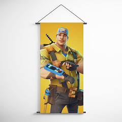 Fortnite 02 8-Bit Demo Constructor Decorative Banner Flag for Gamers (gamewallart) Tags: background banner billboard blank business concept concrete design empty gallery marketing mock mockup poster template up wall vertical canvas white blue hanging clear display media sign commercial publicity board advertising space message wood texture textured material wallpaper abstract grunge pattern nobody panel structure surface textur print row ad interior