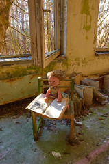 Nursery doll (davidwhalley) Tags: kindergarten chernobyl prypiat abandoned school doll