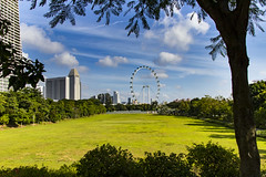 Singapore Flyer (Synghan) Tags: singapore city singaporecity travel destination attraction landmark local regional southeastasia hot summer sea field landscape scenic scenery wideangle photography horizontal outdoor colourimage fragility freshness nopeople foregroundfocus adjustment interesting awe wonder 17mm holiday vacation journey canon eos80d 80d sigma 1750mm f28 싱가포르 여행 시티 도심 동남아