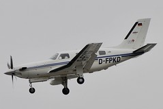 D-FPKD (LIAM J McMANUS - Manchester Airport Photostream) Tags: dfpkd bizz piper pa46 malibu meridian pipermalibu malibumeridian p46t manchester man egcc