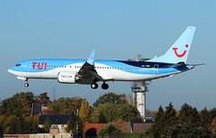 TUI Airlines Belgium Boeing 737 MAX  8 OO-TMB / BRU (RuWe71) Tags: tuiairlinesbelgiumnv tuiairlinesbelgium tbjaf beauty tui tuigroup belgium boeing boeing737 b737 b7378 b38m b7378max boeing737max8 ootmb cn445916908 brusselsnational brusselszaventem brusselszaventemairport brusselzaventem zaventem bru ebbr narrowbody twinjet winglets scimitarwinglets landing runway sunshine clearsky bluesky costablancarelaxation
